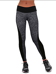 Europe And The New AB-Sided Stitching Elastic Waist Leggings Hip Yoga Pants