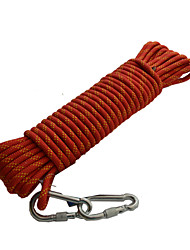 The Diameter of 10MM Static Rope Rope Climbing Rope Drop Fire Retardant Exploratorytunnel Bearing 2400KG (10 -200M)