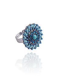 Bohemian Roundness Drill Beads Ring