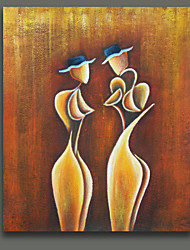 Free Shiping Abstract Couple New Designs on Canvas