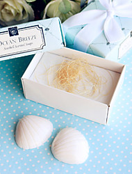 Beach Party theme Seashells Soaps Favor