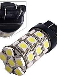2 * Auto 7443 7440 t20 Heckbremse Birne Lampe 5050SMD weiß 27 LED-Licht 12v 2.5w 250lm