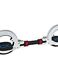 ciclo de skate x8 dos ruedas plegable 2 partes patineta deriva rueda de rodillo stunt scooter de deporte extremo