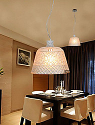 The Chandelier With Decorative Art Glass Carving Pendant