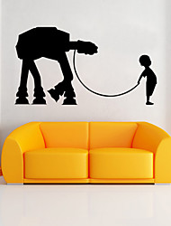 W-17Star Wars Wall Art Sticker Wall Decal DIY Home Decoration Wall Mural Removable Bedroom Sticker