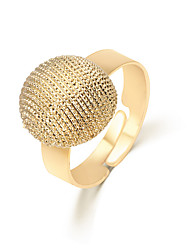 Lureme®  European Style Fashion  Individuality Gold  Honeycomb Alloy Cuff Rings