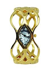 montres femmes de la mode shell composer alliage bracelet creux quartz or montres hip hop (couleurs assorties)