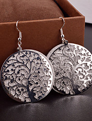 Damen Ohrring Legierung Ohne Stein Drop Earrings