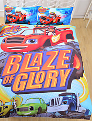 Bedding The Blaze and the Monster Machines Bedspread Plain Printed Home Textiles Home Sheet Twin Full Queen
