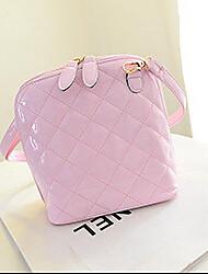 Women PU Sling Bag Shoulder Bag - Pink / Purple / Gold / Black