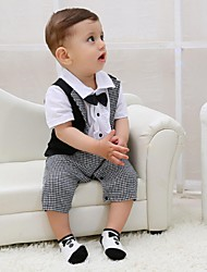 Black Cotton Ring Bearer Suit - 1 Pieces