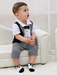 Черный Хлопок Детский праздничный костюм - 1 Куски Включает в себя
