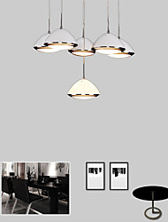 12W Pendant Lights LED Modern/Contemporary Dining Room / Kitchen Metal