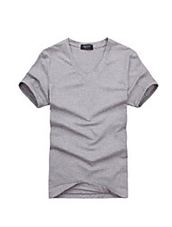 Fietsen/Wielrennen T-shirt Heren Ademend / Sneldrogend Effen Grijs M / L / Xl Recreatiesport