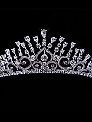 High Quality Full AAA CZ Tiaras Crowns for Wedding Hair Accessories for Prom Pageant
