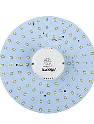 youoklight® 19W 1700lm 3000 / 6000К 100-smd2835 белый свет / теплый белый привело тело индукции потолочный светильник (AC90-265V)