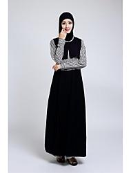 Formal Evening Dress - Black A-line Jewel Ankle-length Chiffon