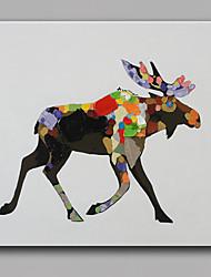 одного современного абстрактного чистого ничья рука готовы повесить декоративные картины маслом корову