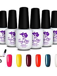 Sexy Mix Soak Off UV Gel Polish Set UV Gel Nail for Nail Art Long-lasting
