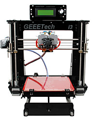Geeetech Acrylic Prusa Dual Head Extruder MK8 Unassembled I3 Kit 1.75mm Filament 0.3mm Nozzle