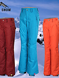 GSOU SNOW® Ski Wear Pants/Trousers/Overtrousers / Bottoms Women's Winter Wear Cotton / Terylene Fashion Winter ClothingWaterproof /