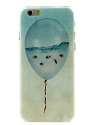 воздушный шар рыбы высокое качество и хорошая цена картины жесткий футляр для iPhone 6 / 6с