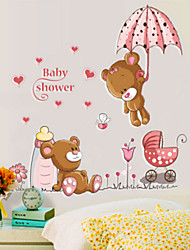 Cute Cartoon Bear Stickers Wall