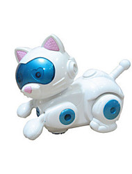 The Magic Of Robot Electronic Pet Cat Toys Children Music Light Model