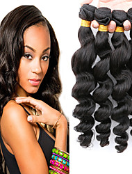 Slove Hair Products Peruvian Loose Wave Virgin Hair 100% Unprocessed Human Hair Extension Good Quality Tangle Free