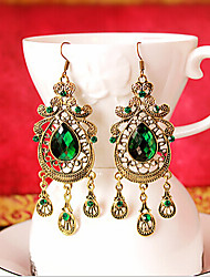 Drop Earrings Gemstone Crystal Alloy Drop Jewelry Party Daily 1 pair