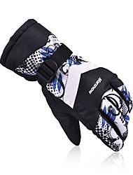 2016 New Men's Ski Gloves Women Snowboard Gloves Motorcycle Riding Winter Ski Glove Windproof Unisex Snow Gloves M801