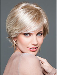 New Product  Short  Synthetic  Wigs   Extensions Blonde  Color High Quality