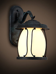 Lampade a candela da parete LED Rustico/lodge Metallo
