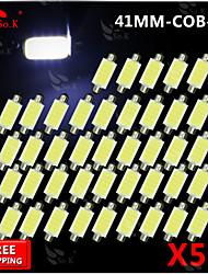 50x Girlande 42mm Hochleistungskolben SMD Lichtkuppel Karte Glühlampe 211-2 578 212-2