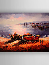Oil Painting Landscape Hand Painted Canvas with Stretched Framed Ready to Hang