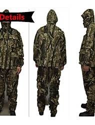 Outdoor Winter Snowfield Thickening Jacket Parka Camo Suits Clothing for Hunting Fishing(Jacket+ Trousers)