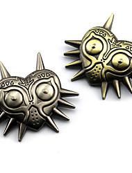 Bijoux Inspiré par The Legend of Zelda Cosplay Anime/Jeux Vidéo Accessoires de Cosplay Badge / Broche Doré / Argenté Alliage Masculin
