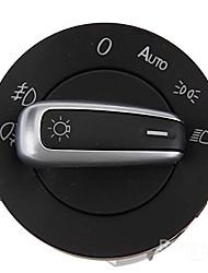iztoss cromo euro interruptor de la luz de conducción niebla cabeza 5nd941431b para passat tiguan vw gti cc scirocco mk5 golf MK6