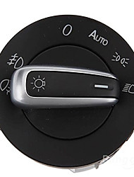iztoss 5nd941431b хром евро Глава туман дальнего света переключатель для VW Tiguan Passat CC Scirocco GTi гольф mk5 Mk6
