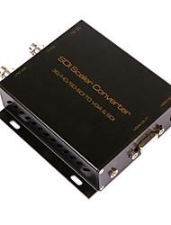 SDI convertidor de escalador 3G / HD / SD-SDI a vga&SDI bucle convertersdi salida al convertidor VGA