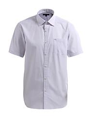 JamesEarl Herren Hemdkragen Kurze Ärmel Shirt & Bluse Lila - DA172029633