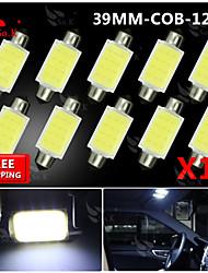 10x 39mm feston ampoule haute puissance torchis SMD carte de la lampe plafonnier 211-2 578 212-2