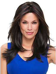 Long Length Hair European Weave Light Mixed Color Hair Wig