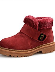 Girl's Winter Snow Boots / Round Toe Fur Outdoor / Casual Chunky Heel Multi-color