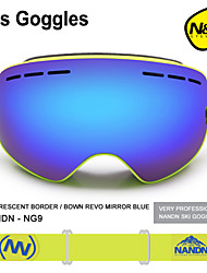 NANDN Children Ski Goggles Boy Girls Big Spherical Snowboard Anti-Fog Skiing Glasses NG3 Parent Child Skiing Goggles NG9