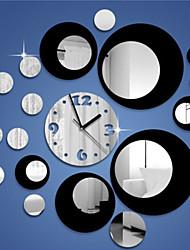 Rond Moderne/Contemporain / Casual / Office/Business Horloge murale ,Vacances / Niches / Inspiré / Mariage / Famille / Ecole/Diplôme /
