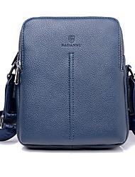 Men PU Baguette Shoulder Bag - Blue / Brown / Black