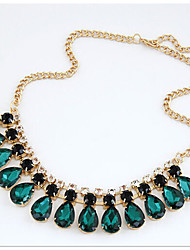 New Arrival Fashion Jewelry Luxury Crystal Water Drop Necklace