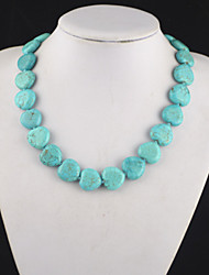 Necklace Pendant Necklaces / Vintage Necklaces Jewelry Party / Daily / Casual / Sports Gem / Turquoise Green 1pc Gift