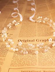 Feminino / florista de cristal / imitação de pérola headpiece - casamento / ocasião especial / headbands ao ar livre barato